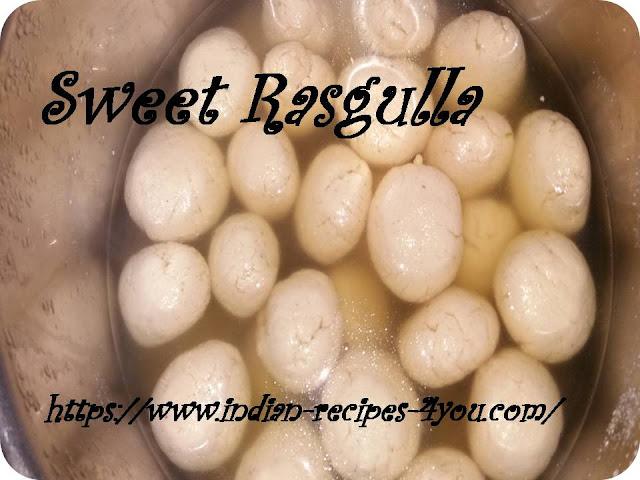 sweet rasgulla recipe in hindi by aju