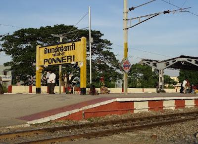 Ponneri Railway Station