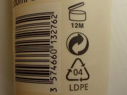bottles with recycle code 4