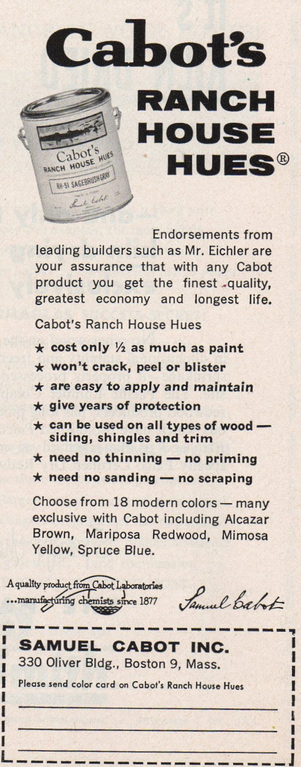 Mad for Mid-Century: Vintage Ads for Mid-Century Stains