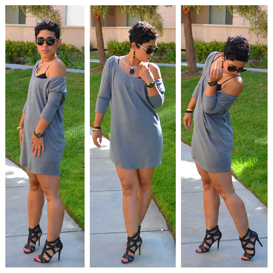 Casual Friday #DIY Pullover Dress + Oliso Smart Iron ...