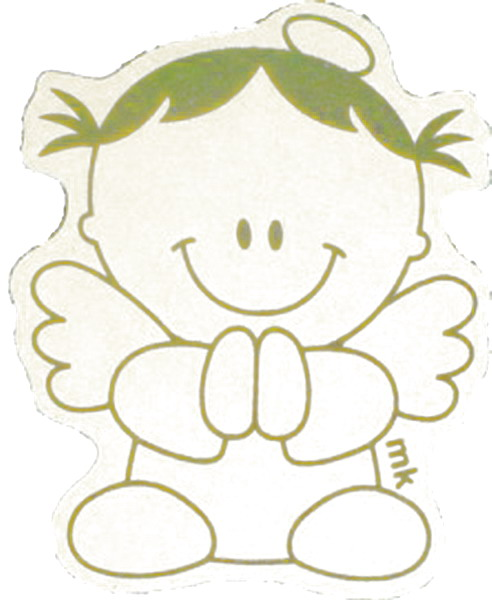 Mi colección de dibujos: Angelitos para comunión
