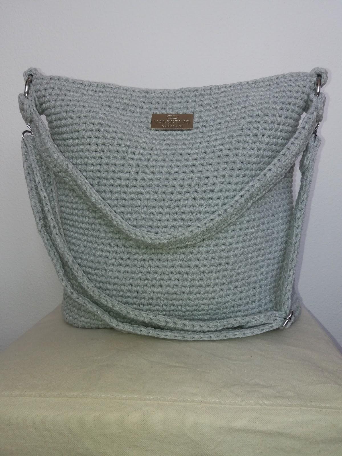 Emmhouse T Shirt Yarn Cross Body Bag Free Written Pattern