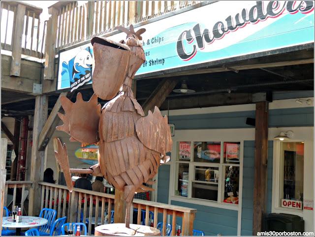 Restaurantes del Pier 39 en el Fisherman´s Wharf