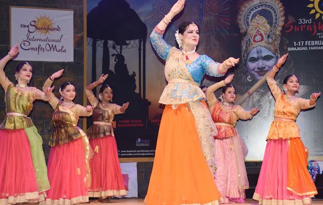 Sunday, in Sunakkund, named after Kathak dancer Anu Sinha