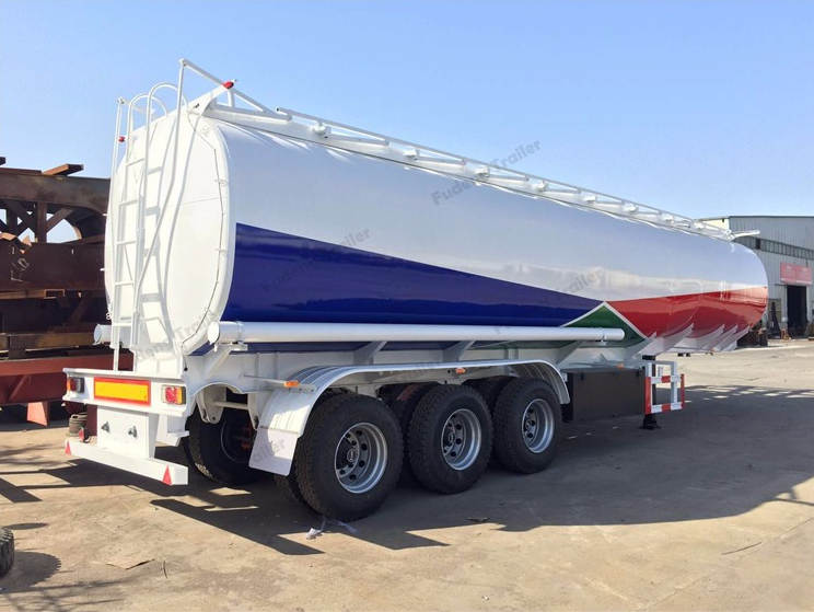 China Fudeng Semi Trailer Manufacturer: Used oil tanker