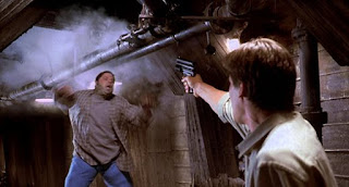Hollow Man invisible action scene 2000