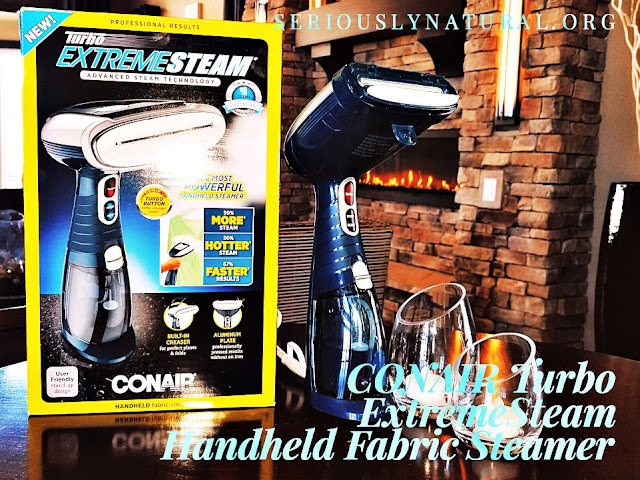 Click here to buy the Conair Turbo ExtremeSteam® Handheld Fabric Steamer for the perfect Mother's Day gift!