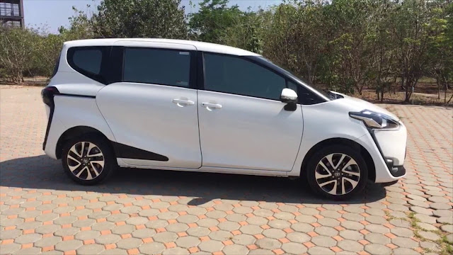Desain Eksterior Toyota Sienta