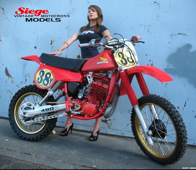 Siege Vintage Motocross Models