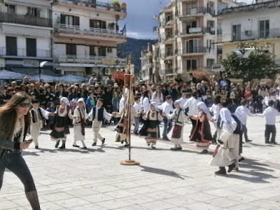 Χορευτικές εκδηλώσεις 25ης Μαρτίου στην Ηγουμενίτσα