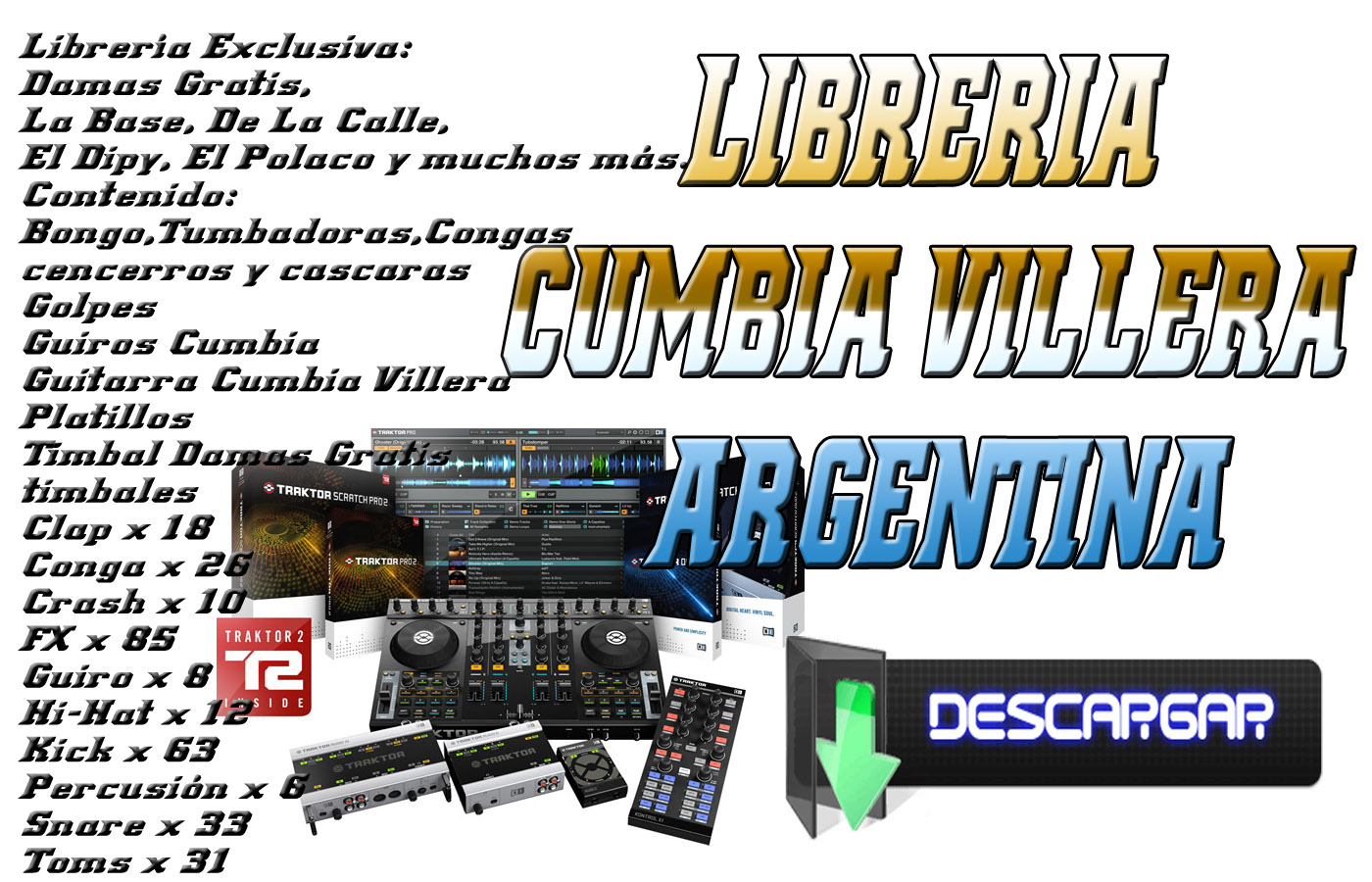 Descargar pack de cumbias rmx para dj 2gb gratis youtube.