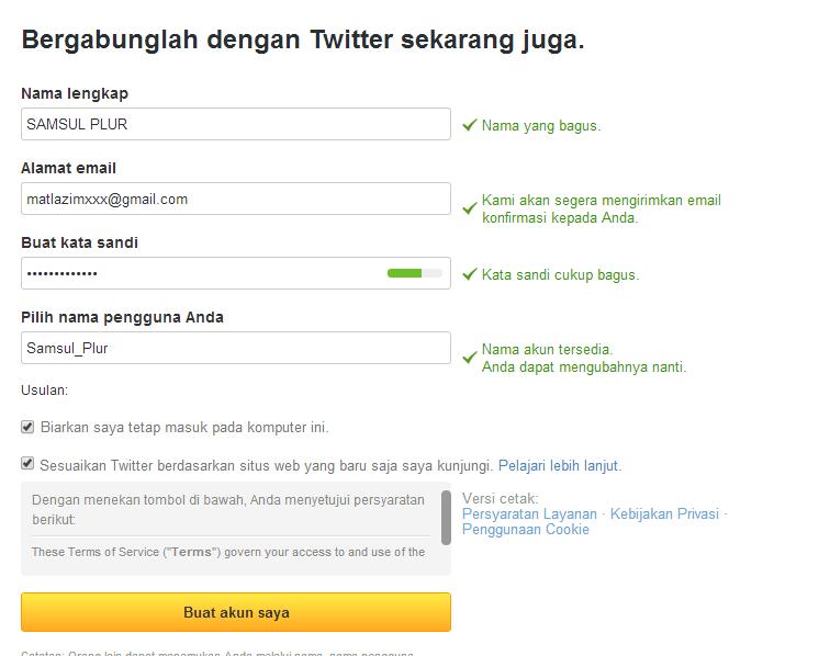 Panduan Cara Membuat Twitter Dengan Mudah