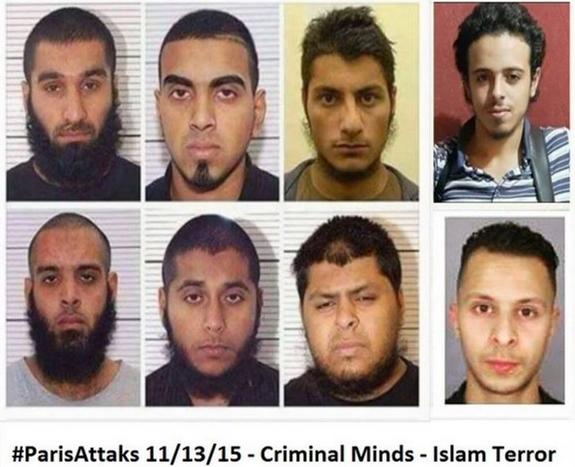terroristes musulmans
