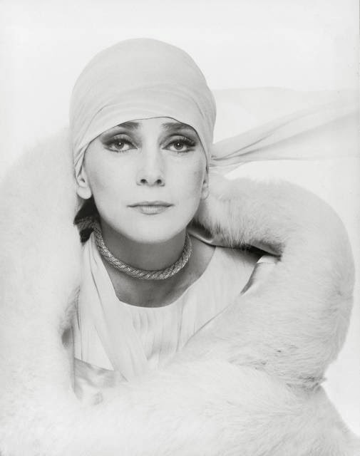 Valentina Cortese - Roma 1973. Photo Pierluigi