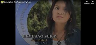 Lirik Lagu Lembang Sura' - Lagu Toraja Lama