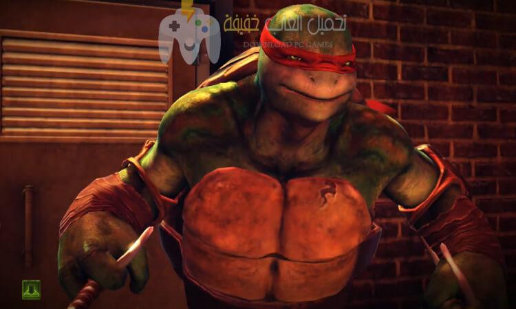 تحميل لعبة TMNT Out of The Shadows مضغوطة للكمبيوتر