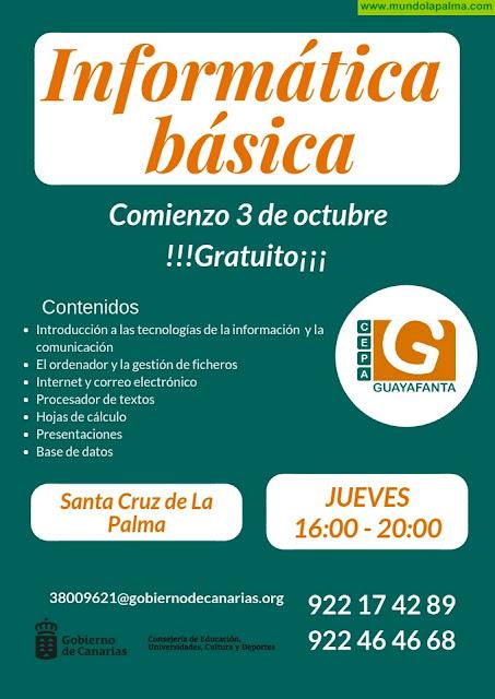 Curso de Informática Básica CEPA Guayafanta