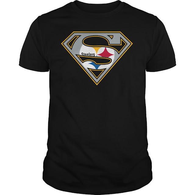 Pittsburgh Steelers Superman Logo Shirt