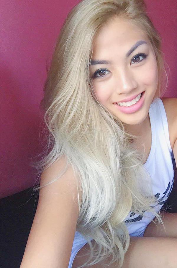 Asian teen nude selfie