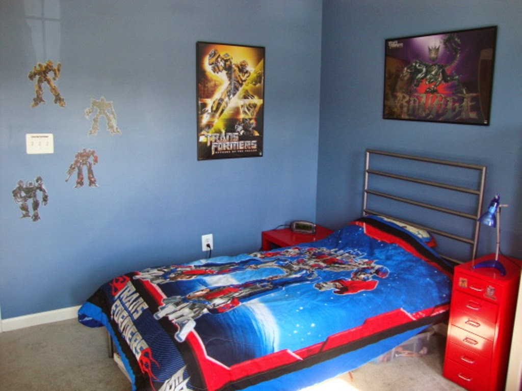 Themed Kids Bedroom Design Superhero