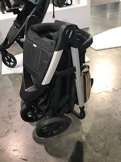 the Thule Spring Stroller folded, shop Kidsland