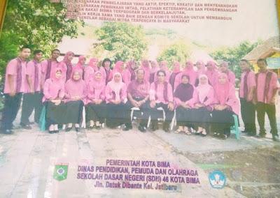 Keluarga Besar SDN 46 Lela Jatibaru Mengucapkan Selamat HUT ke-17 Kota Bima
