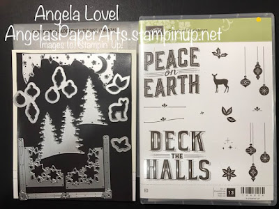 Carols of Christmas Stampin' Up! bundle available from Angela Lovel, AngelasPaperArts
