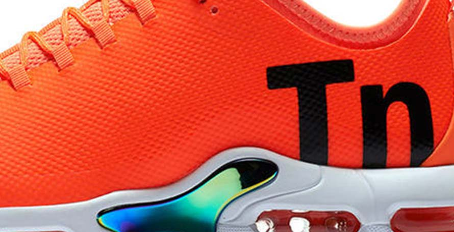 c4dcd6e568 ... fuses the legendary football boot with the Air Max Plus, a shoe simply  known as the 'TN' (short for Tuned Air) because of the large logo on the  upper.