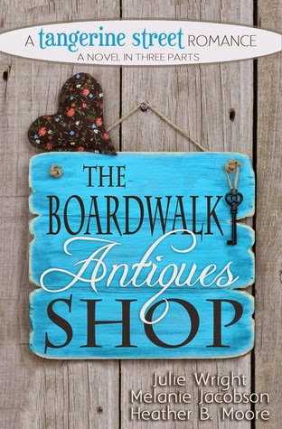 Review: The Boardwalk Antiques Shop by Julie Wright, Melanie Jacobson, Heather B. Moore