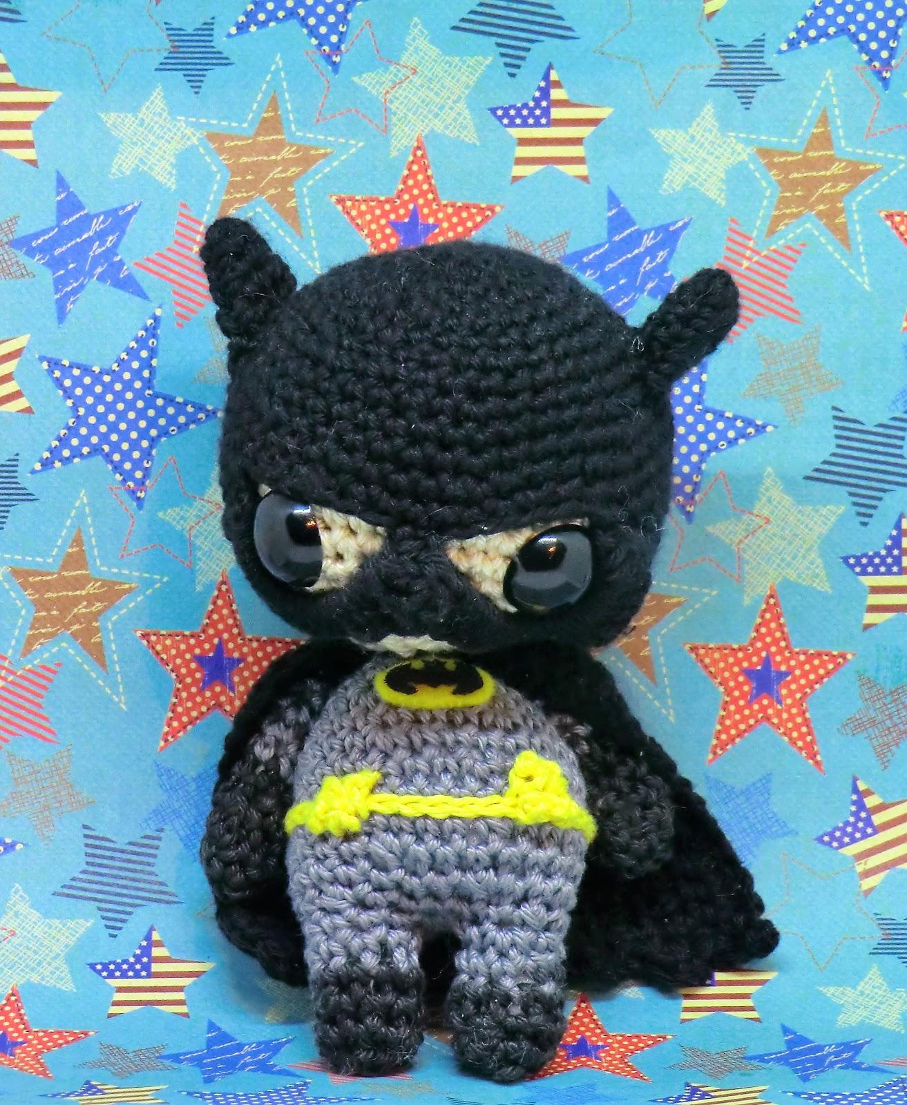 amigurumi batman Stuffed rattle toy|rattle toys|toy rattletoys ... | 1600x1313