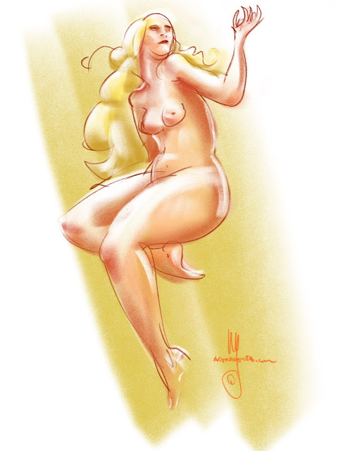 Lifedrawing  by Ulf Artmagenta.com
