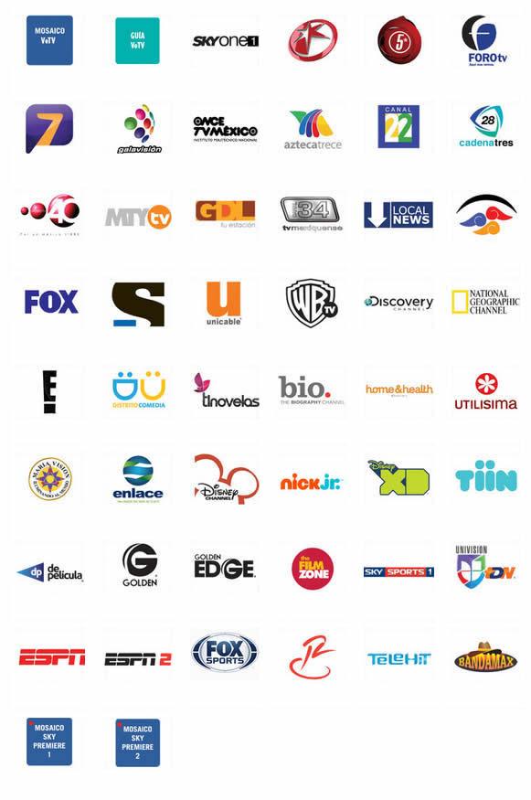 ve tv por sky canales