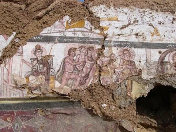 Ελληνικό σχολείο στα βάθη τής ερήμου διδάσκει Όμηρο το 300 μ.Χ.