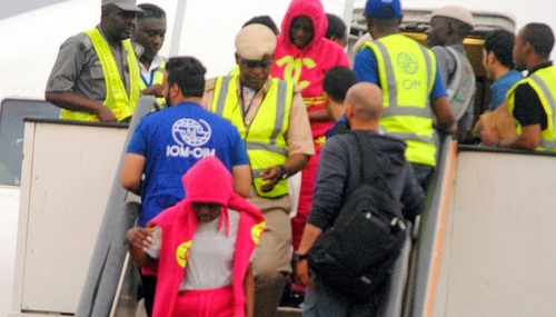 Another Set Of 258 Nigerians Return From Libya (Photos) 1