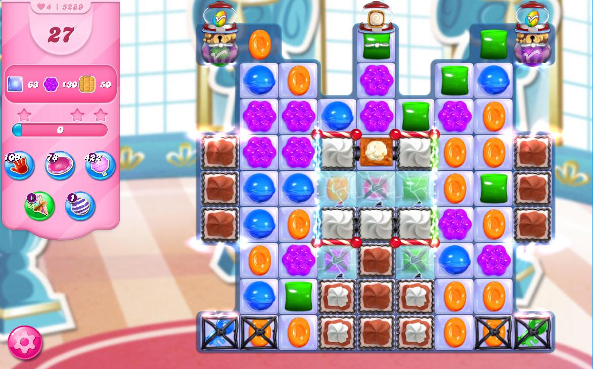 Candy Crush Saga level 5289
