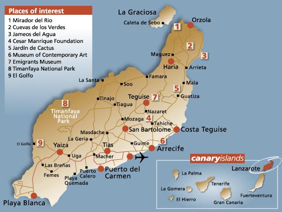 Lanzarote (Canarie)