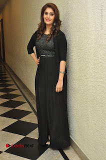 Actress Surabhi Stills in Black Long Dress at turodu Audio Launch  0109.JPG