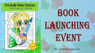 Chibi Doodle Whimsy Character Volume 2 book Launching event