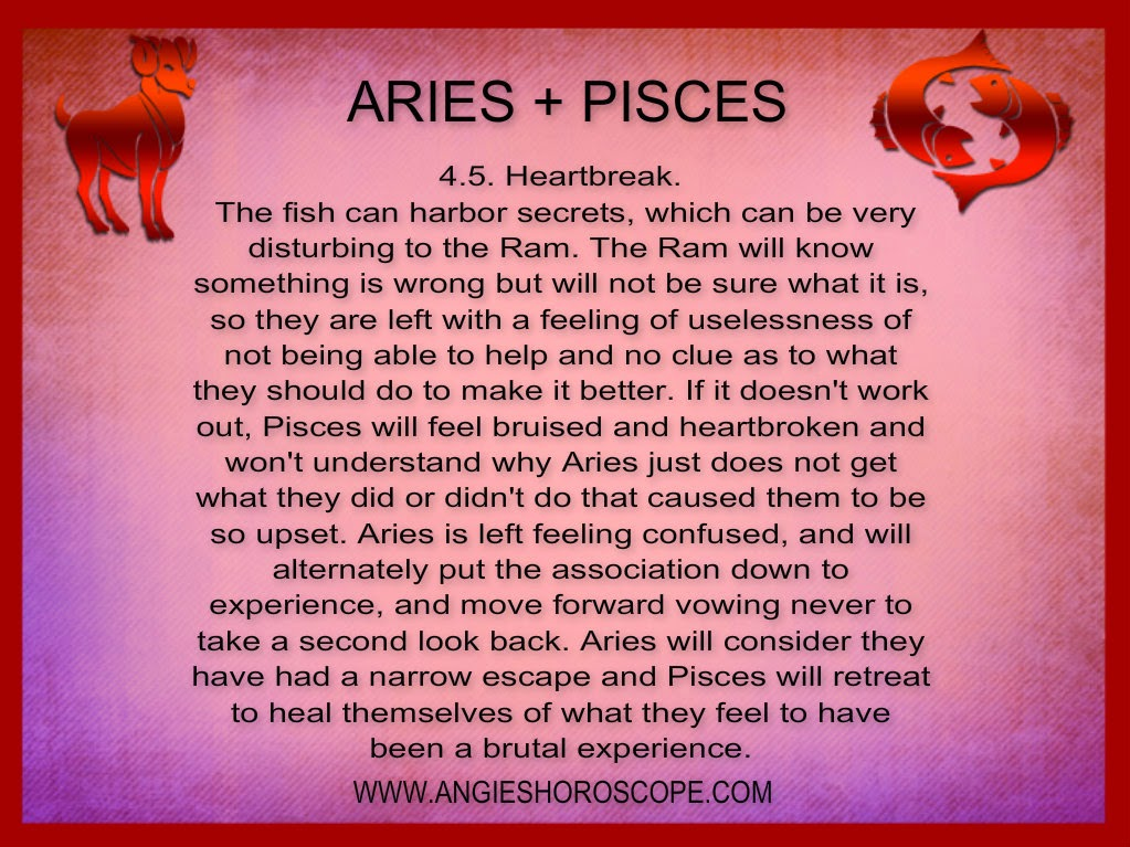 Pisces aries cusp man dating