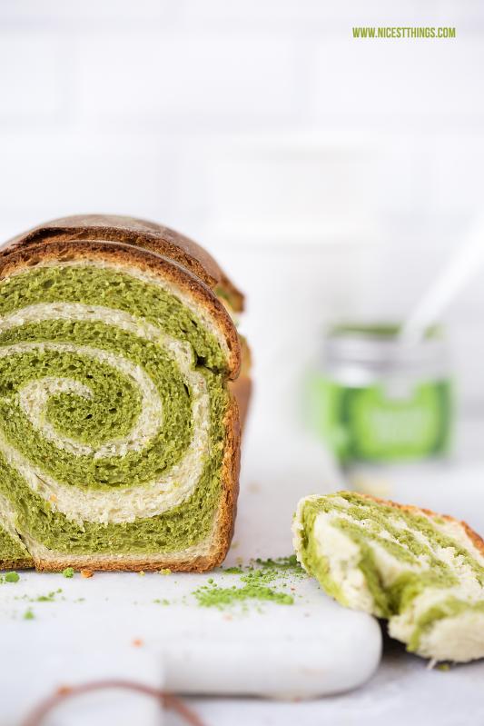 Matcha Spirale Kuchen Matcha Swirl Cake mit Thermomix Rezept