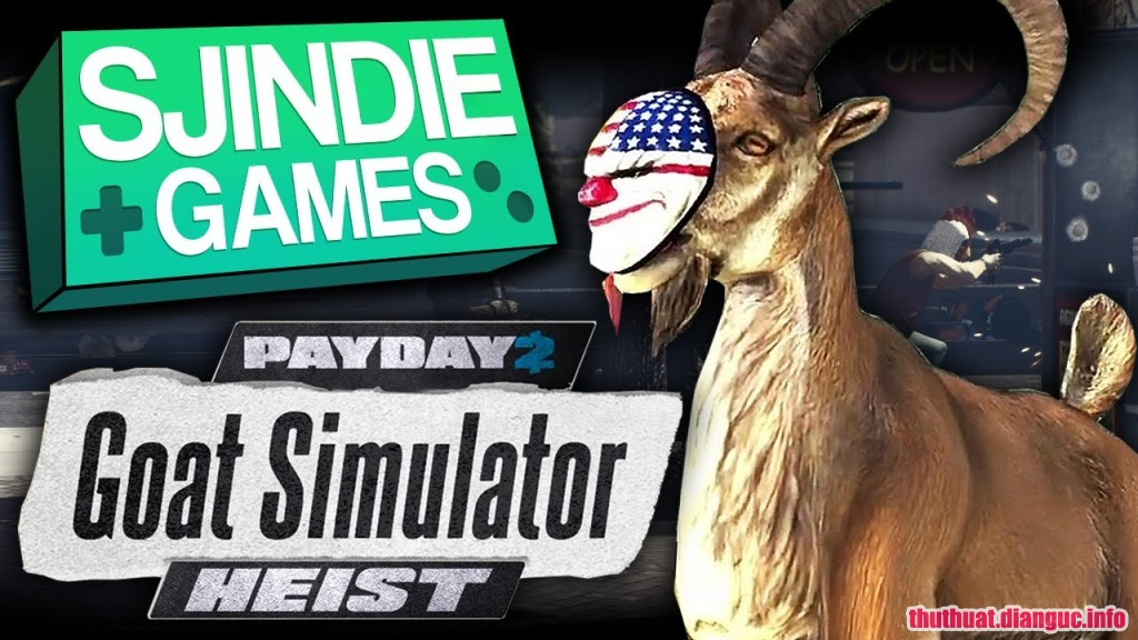 Download game Goat Simulator: PAYDAY Full Cr@ck
