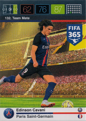 Panini Adrenalyn XL FIFA365 2016 Pierre-Emerick Aubameyang Goal Machine