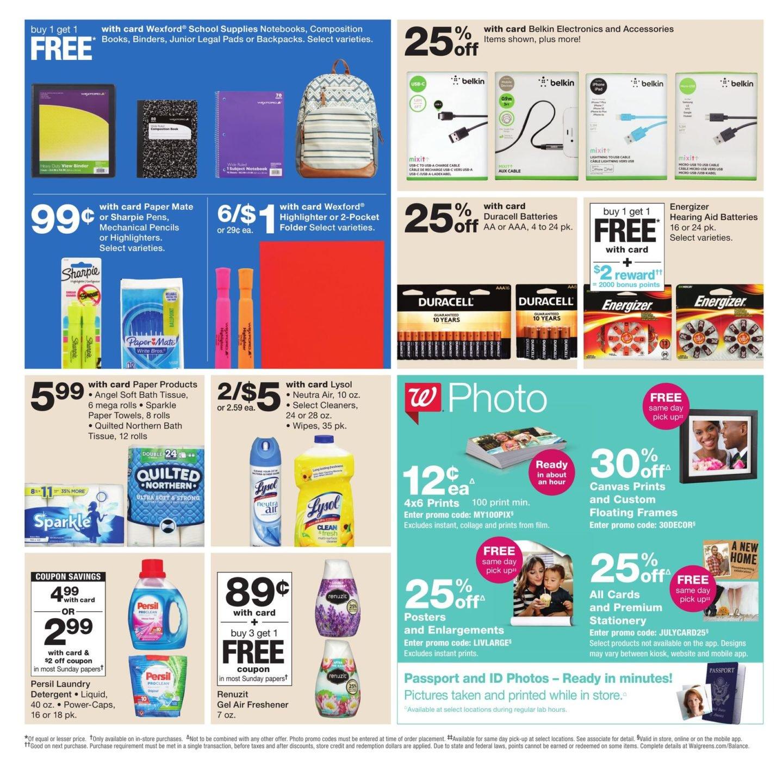 Walgreens Weekly Ad July 8 14 2018 Weekly Ad Deals