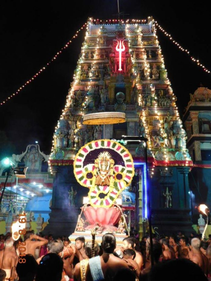 தெல்லிப்பழை துர்காதேவி ஆலய ஏழாம் நாள் உற்சவம்!