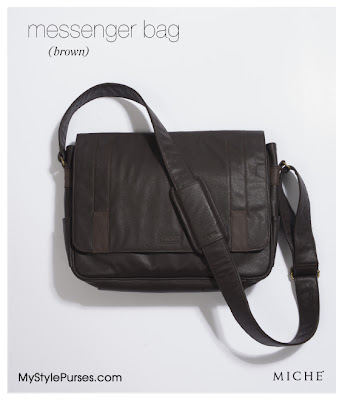 Miche Messenger Bag for Men from MyStylePurses.blogspot.com