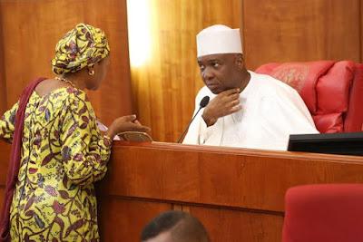 Sentors loyal to Bukola Saraki allegedly threaten to impeach President Buhari