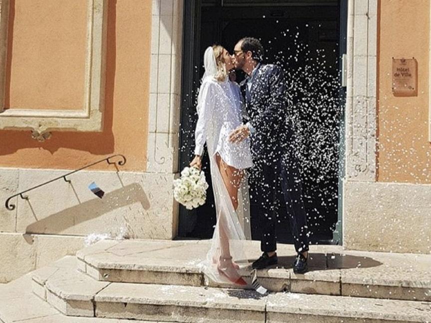 7d8a4457a1 Oggi Sposi blog: Matrimonio LOLITA JACOBS e JEAN BAPTISTE TALBOURDET ...