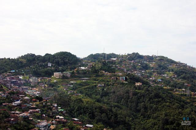 Zunheboto Town Landscape Photos