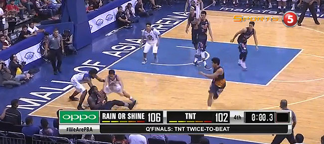 Rain or Shine def. TNT, 106-102 (REPLAY VIDEO) September 27 / Quarterfinals